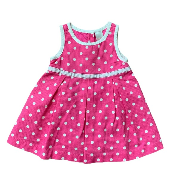 5/$50 SALE | FREE SHIPPING Old Navy Baby Girl Pink Dress
